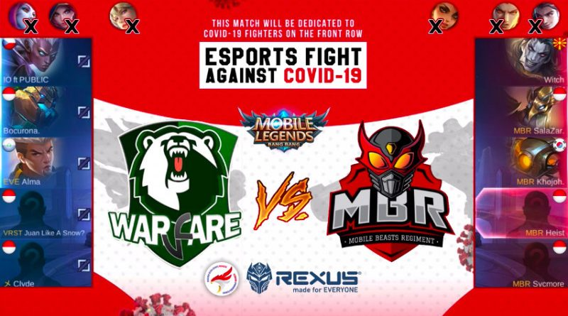 Esports Fight Against COVID-19 MLBB