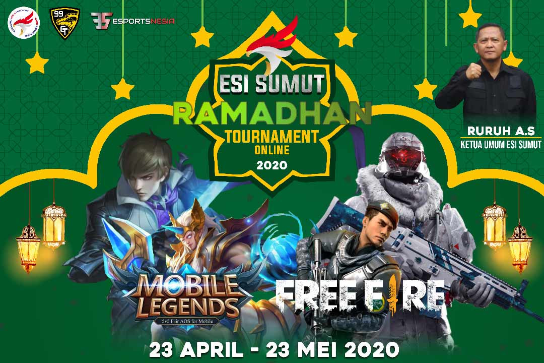 Week Final: ESI Sumut Ramadhan Online Tournament Siap Pertandingkan 66 Tim Finalis