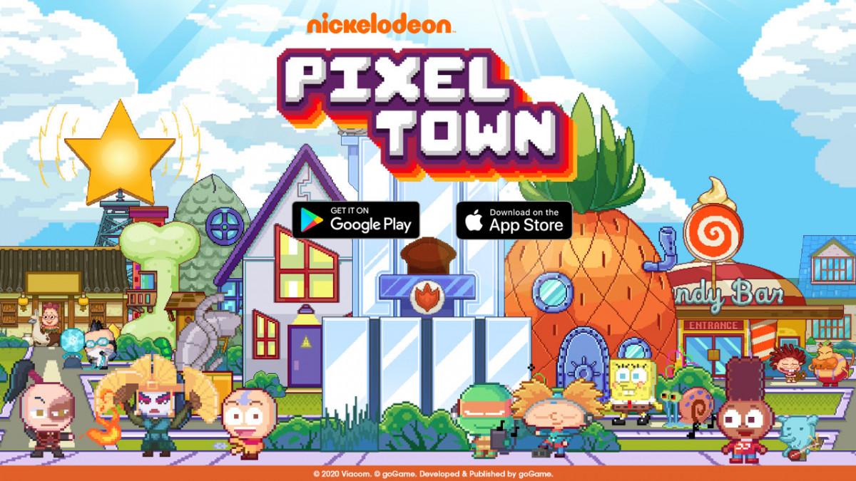 Download dan Mainkan Nickelodeon Pixel Town Hari Ini!
