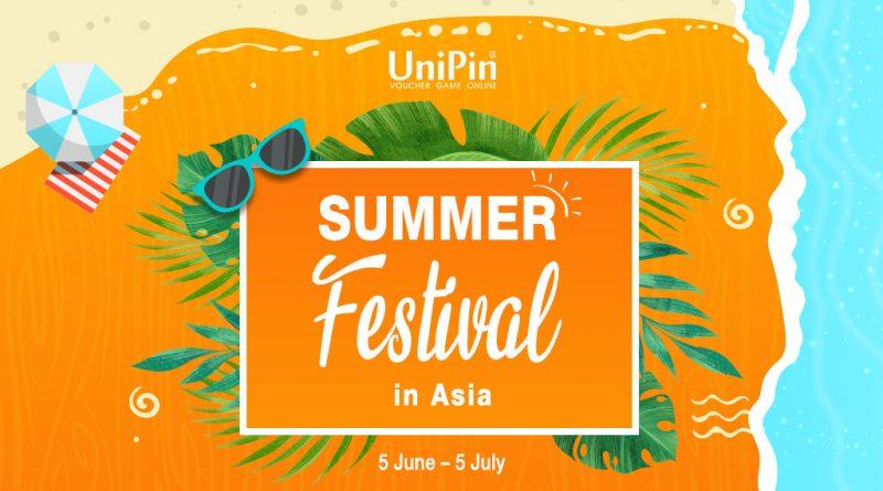 UniPin Summer Festival!! Dapetin Bonus UniPin Credits total 7 juta!