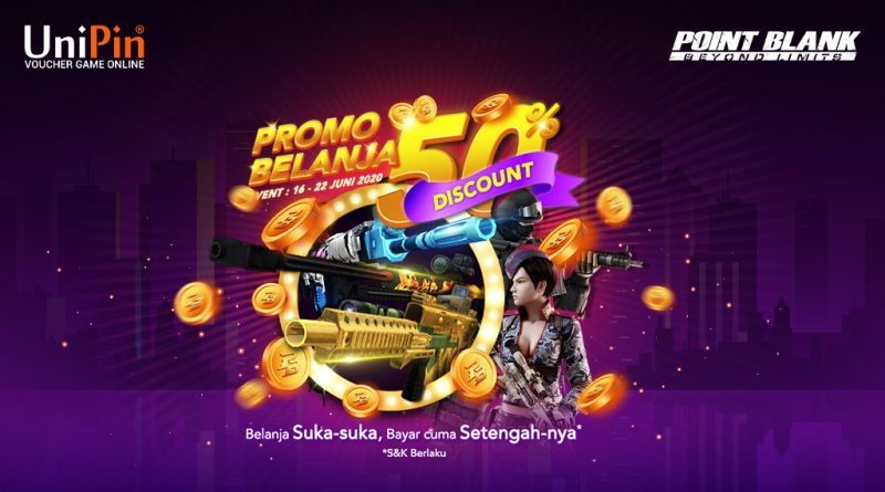 Point Blank Indonesia - Promo Spesial untuk First Shopping