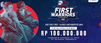 First Media Gelar First Warriors Championship! Mau Ikut?