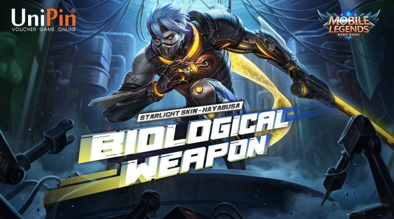 "Dapatkan hayabusa ""Biological Weapon"" dan bonus Ratusan Ribu UniPin Credits!"
