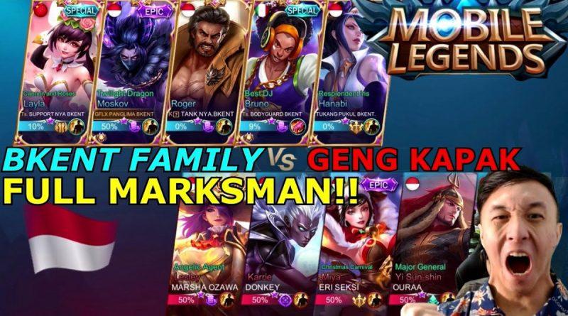 Geng Kapak dari Oura melawan Bkent Family! Siapa yang Menang?