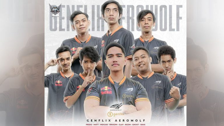 Upstation-Kaesang Siap Terjun ke MPL Season 6 Dengan Tim Mobile Legends Genflix Aerowolf