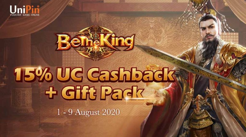 Be the King with UniPin – Get 15% Cashback of UniPin Credits + Gift Pack