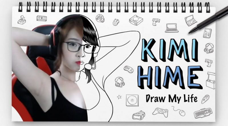 Dikenal Sebagai Gamers Terseksi, Ini Dia Draw My Life Kimi Hime!