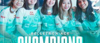 Keren! Belletron Ace Jadi Juara PMPL ID Season 2 Ladies!