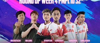 Round Up Week 4 PMPL ID Season 2: ION Esports Kokoh di Puncak Klasemen