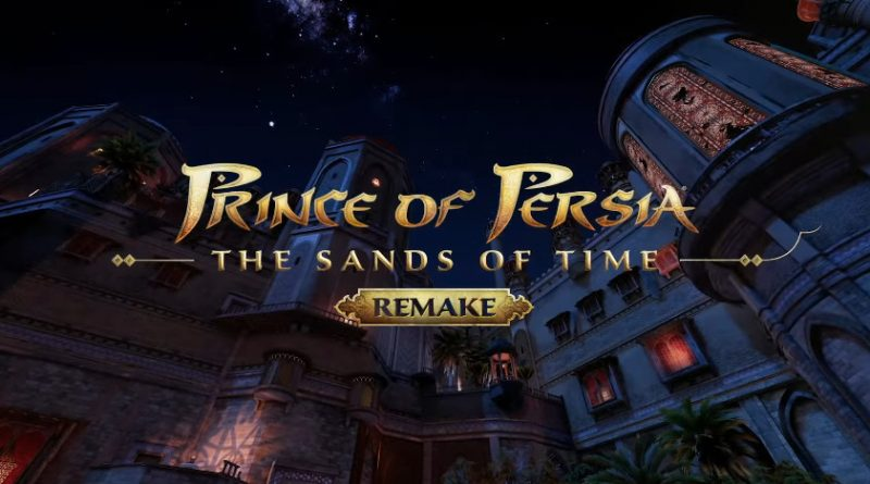 upstation - Ubisoft Resmi Umumkan Game Prince of Persia: The Sands of Time Remake!