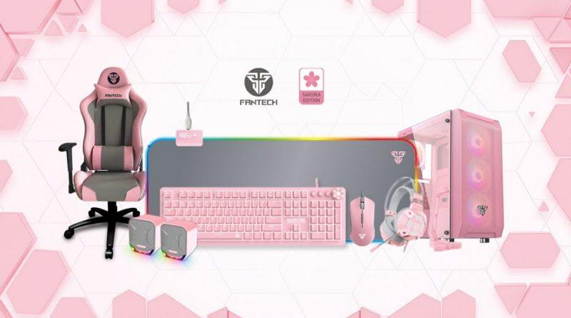 upstation - Gaming Set Fantech Sakura Edition Akan Rilis Perdana 10 Oktober Nanti
