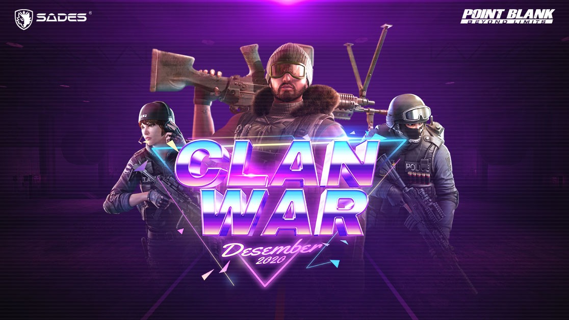 Point Blank Clan War Desember Telah Dikuasai Tim Legend!