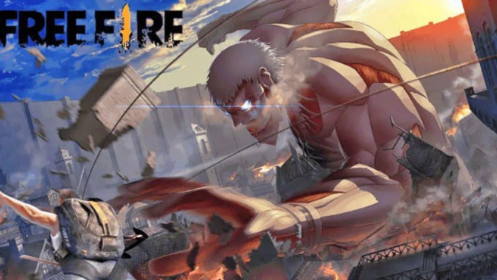 Upstation-Resmi! Free Fire Umumkan Kolaborasi upstation-Dengan Attack On Titan!