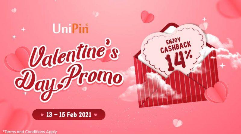 Valentine's Day dengan UniPin, Dapatin Cashback hingga 14%!