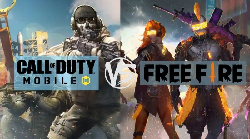Free-Fire-vs-Call-of-Duty-Mobile