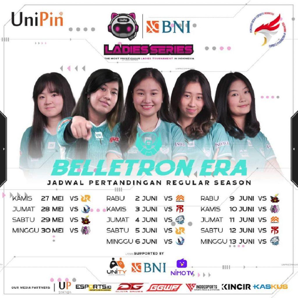 Jadwal Belletron Era W1