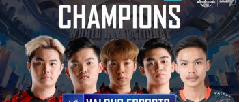 Valdus Esports Resmi Menjadi Juara PMWI East 2021!