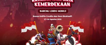 Lords Mobile Independence Day Event with UniPin
