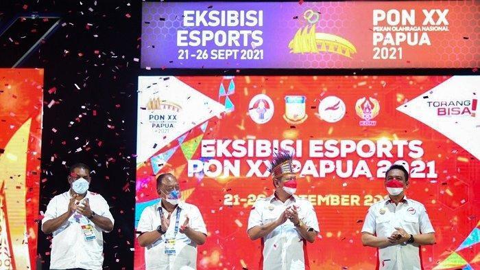 Eksibisi Esports PON XX Papua 2021 Resmi Ditutup, Ini Kata Bamsoet!