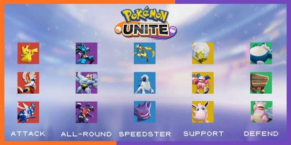 Ini Dia 5 Role dalam Pokemon Unite yang Wajib Kamu Pelajari!