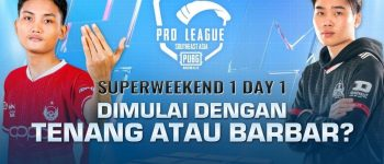 PMPL SEA Season 4 Super Weekend 1 Day 1: Tim Indonesia Mulai Panas!