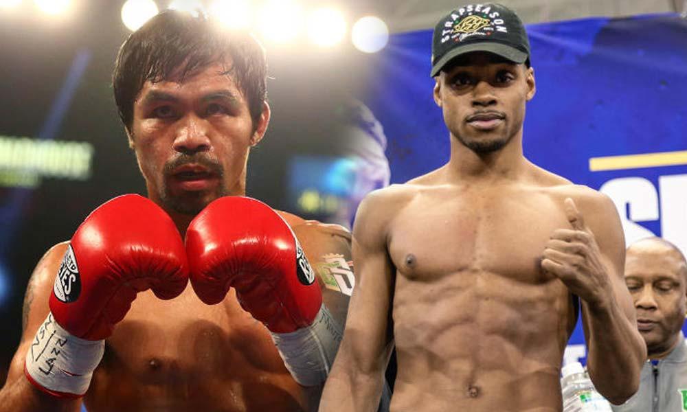 """Shakur Stevenson says: Errol Spence """"easy"""" beats Manny Pacquiao"""