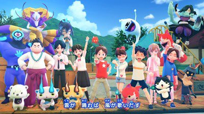Yo Kai Watch 4 Game S Opening Movie Streamed Up Station Philippines