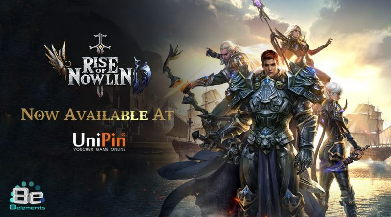 NOW YOU CAN TOP UP RISE OF NOWLIN USING UNIPIN!