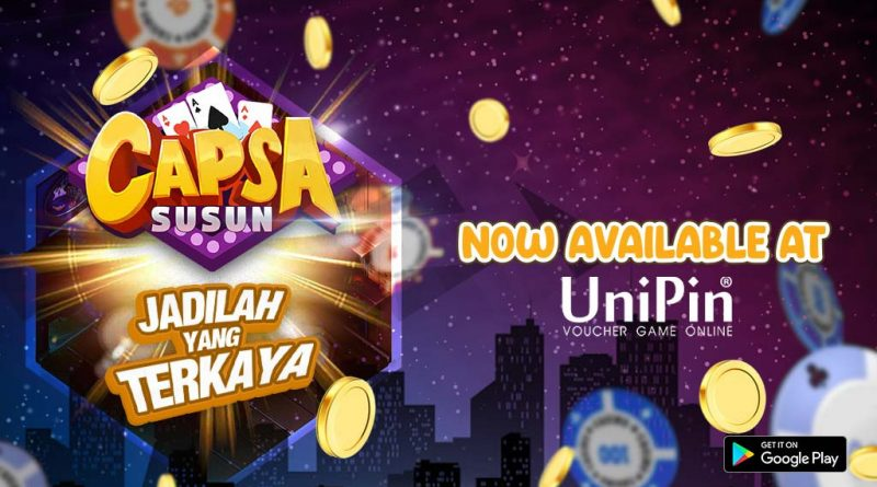 Now You Can Top-up Capsa City at UniPin!