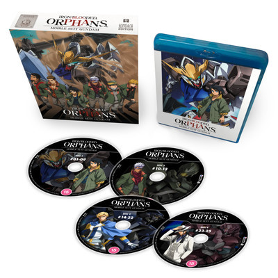 Gundam Iron Blood Orphans Blu Ray Released From June 15 Up