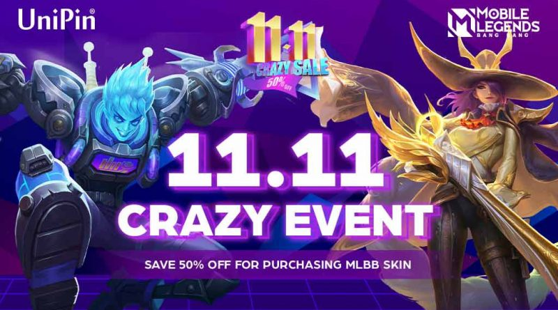 MLBB 11.11 CRAZY EVENT with UniPin!