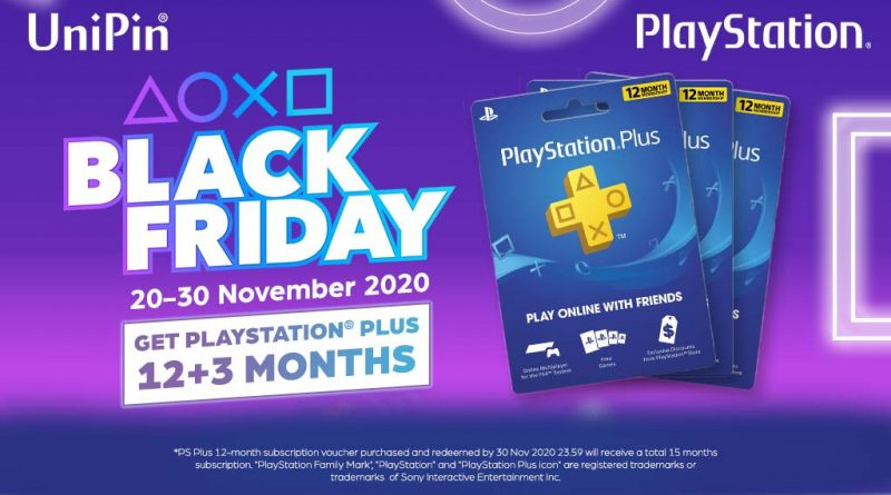 BLACK FRIDAY SALE] EXTRA 3 MONTHS FOR PS PLUS!
