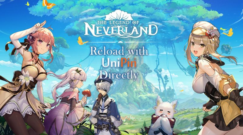 Top Up to The Legend of Neverland with UniPin!