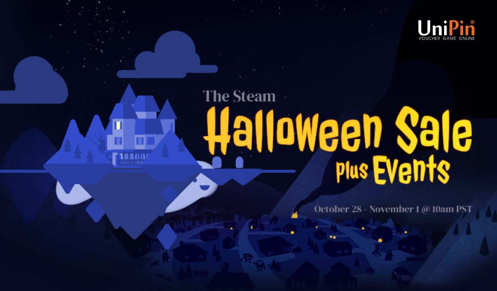 STEAM HALLOWEEN SALES IS COMING!