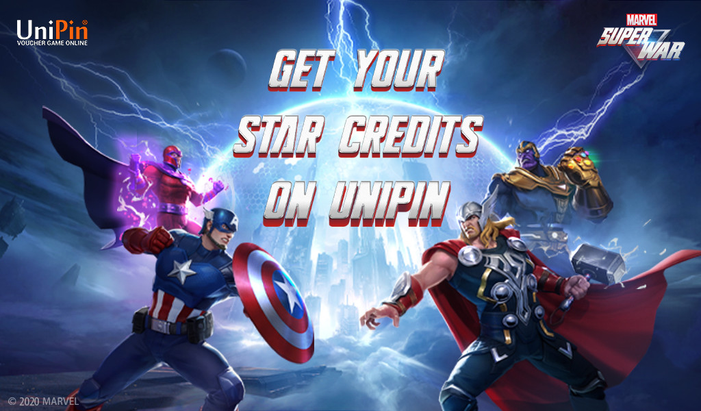 Marvel's first MOBA game on mobile!