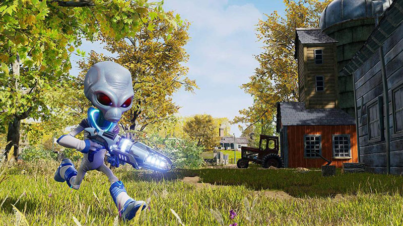 The Destroy All Humans! remake special editions come with backpacks and statues