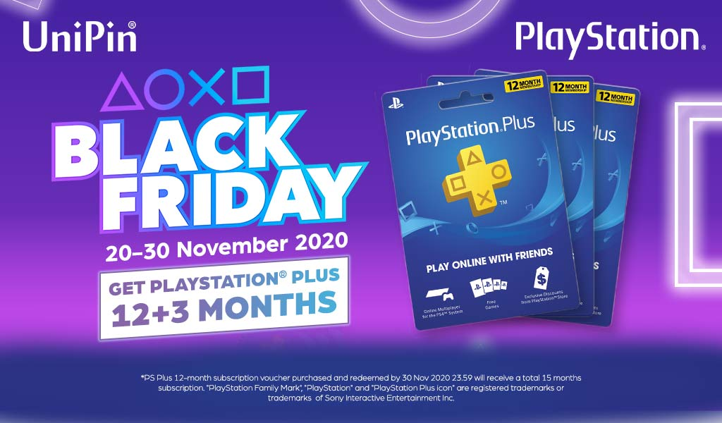 [BLACK FRIDAY SALE] EXTRA 3 MONTHS FOR PS PLUS!