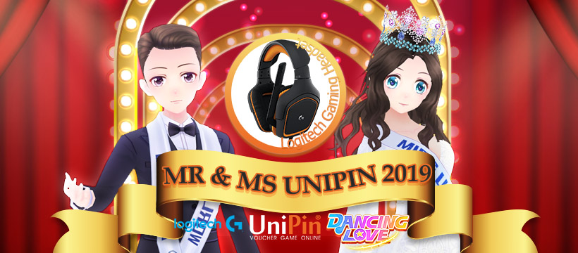 Become Mr. UniPin and Ms. UniPin with Dancing Love